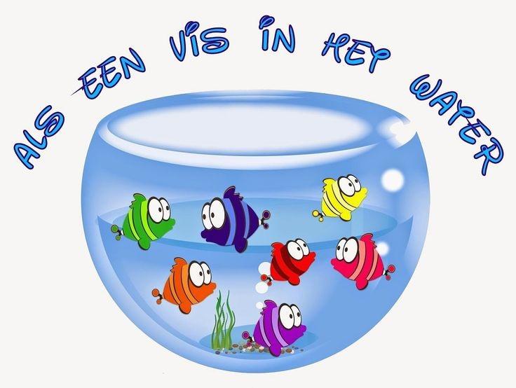Afbeeldingsresultaat voor als een vis in het water